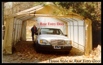 Instant garages garage kits temporary garages portable garages round style garage solutioingenieria Image collections